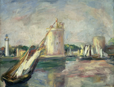 Picture no: 30006890 Renoir /Entree du port La Rochelle /1890 Created by: Renoir, Pierre-Auguste