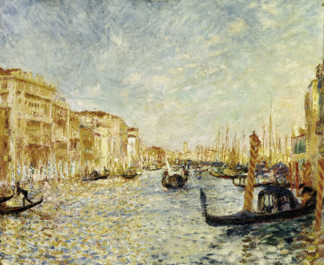 Picture no: 30006908 Renoir / Canal Grande in Venice / 1881 Created by: Renoir, Pierre-Auguste