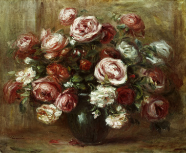 Picture no: 30006932 Renoir / Still life with roses Created by: Renoir, Pierre-Auguste