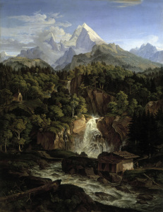 Picture no: 30006994 L.Richter, The Watzmann/ 1826 Created by: Richter, Ludwig