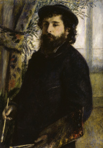 Picture no: 30007006 Renoir / Claude Monet / Painting / 1875 Created by: Renoir, Pierre-Auguste