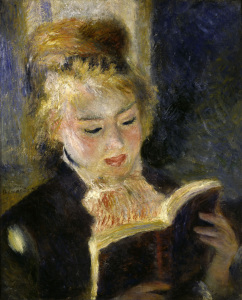 Picture no: 30007010 Reading Girl / Renoir / 1874/76 Created by: Renoir, Pierre-Auguste