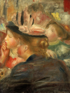 Picture no: 30007030 Auguste Renoir, Im Theater Created by: Renoir, Pierre-Auguste