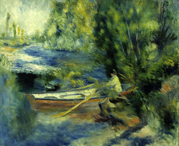 Picture no: 30007044 Renoir / On the bank o.a river / 1878/80 Created by: Renoir, Pierre-Auguste
