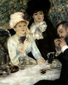 Picture no: 30007046 Renoir / After dinner / 1879 Created by: Renoir, Pierre-Auguste