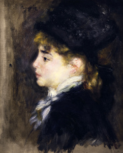 Picture no: 30007050 A.Renoir, Weibliches Bildnis (Margot) Created by: Renoir, Pierre-Auguste