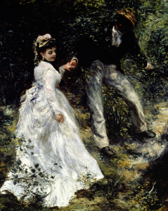 Picture no: 30007074 Auguste Renoir / The Promenade / 1870 Created by: Renoir, Pierre-Auguste
