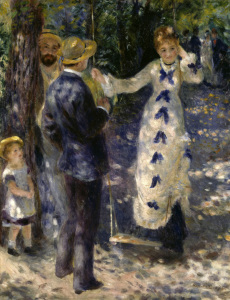 Picture no: 30007076 Renoir, The Swing Created by: Renoir, Pierre-Auguste