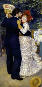 Picture no: 30007078 A.Renoir / Country dance / 1883 Created by: Renoir, Pierre-Auguste