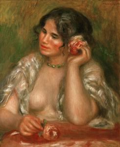Picture no: 30007116 Renoir / Gabrielle a la rose / 1911 Created by: Renoir, Pierre-Auguste