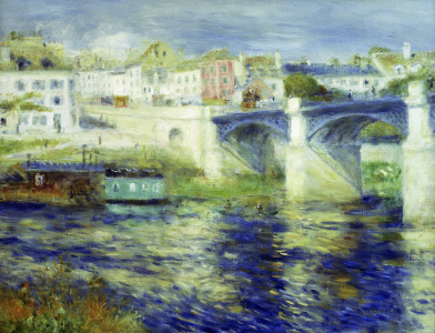 Picture no: 30007120 Renoir / Bridge of Chatou / 1875 Created by: Renoir, Pierre-Auguste