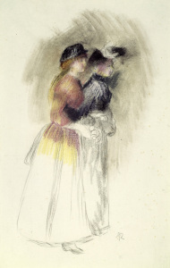 Picture no: 30007130 Renoir / Two women / 1890 Created by: Renoir, Pierre-Auguste