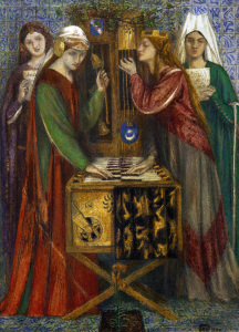 Picture no: 30007180 D.G.Rossetti, Die blaue Kammer Created by: Rossetti, Dante Gabriel