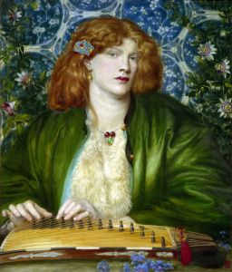 Picture no: 30007188 D.G.Rossetti / The Blue Bower. Created by: Rossetti, Dante Gabriel