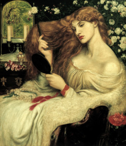 Picture no: 30007192 D.G.Rossetti, Lady Lilith Created by: Rossetti, Dante Gabriel