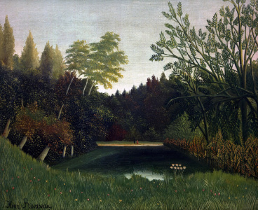 Picture no: 30007210 H.Rousseau, View of Bois de Boulogne Created by: Rousseau, Henri Julien Felix