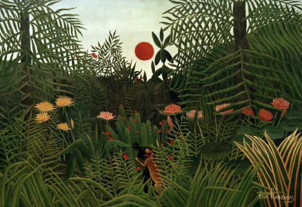 Picture no: 30007238 H.Rousseau / Jungle Landscape.. (Basle) Created by: Rousseau, Henri Julien Felix