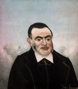 Picture no: 30007274 H.Rousseau, Portrait of a Man Created by: Rousseau, Henri Julien Felix