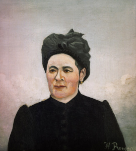 Picture no: 30007298 H.Rousseau, Portrait of a woman Created by: Rousseau, Henri Julien Felix