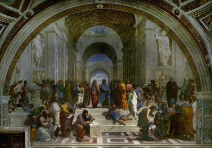 Picture no: 30007365 Raphael / The School of Athens / 1508-11 Created by: Raffaello Santi (Raffael)