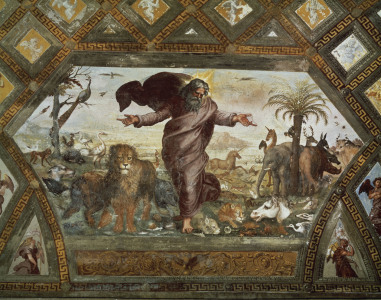 Picture no: 30007367 Raphael /The Creation of Animals /c.1515 Created by: Raffaello Santi (Raffael)