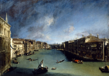 Picture no: 30007391 Venice, Canale Grande / Canaletto Created by: Canal, Giovanni Antonio & Bellotto, Bernardo