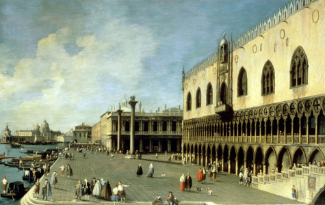 Picture no: 30007393 Venice / Doge's Palace / Ptg.Canaletto Created by: Canal, Giovanni Antonio & Bellotto, Bernardo