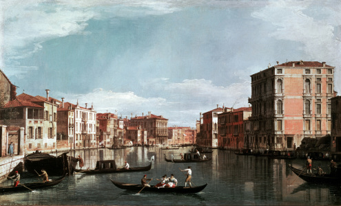 Picture no: 30007395 Canaletto / Canale Grande, Venice Created by: Canal, Giovanni Antonio & Bellotto, Bernardo