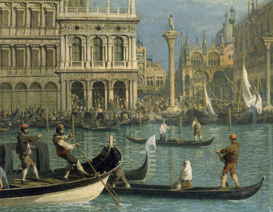 Picture no: 30007397 Venice, Piazzetta / Pai.b.Canaletto Created by: Canal, Giovanni Antonio & Bellotto, Bernardo
