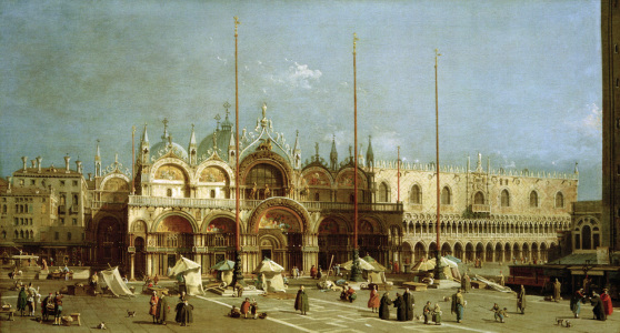 Picture no: 30007409 Venedig, Markusplatz / Gem.v.Canaletto Created by: Canal, Giovanni Antonio & Bellotto, Bernardo