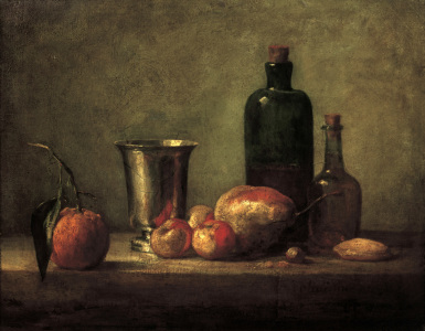 Picture no: 30007421 Chardin / Still Life / Bigarade / c.1756 Created by: Chardin, Jean Siméon