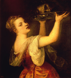 Picture no: 30007467 Titian / Salome with raised Platter Created by: Vecellio, Tiziano