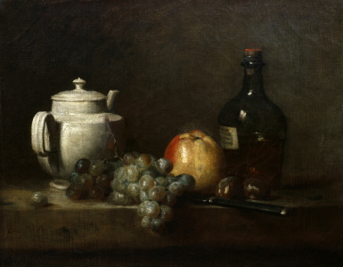 Picture no: 30007471 Chardin / White Teapot / Still Life Created by: Chardin, Jean Siméon