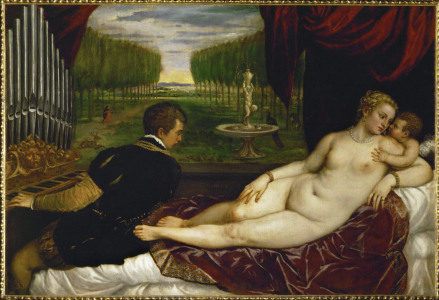 Picture no: 30007491 Titian / Venus with organ player Created by: Vecellio, Tiziano