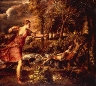 Picture no: 30007497 Titian / The Death of Actaeon / 1559 Created by: Vecellio, Tiziano