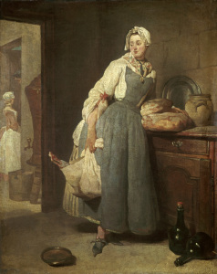 Picture no: 30007509 Chardin / The Messenger / 1739 Created by: Chardin, Jean Siméon