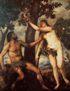 Picture no: 30007521 The Fall from Grace / Titian / c.1568 Created by: Vecellio, Tiziano