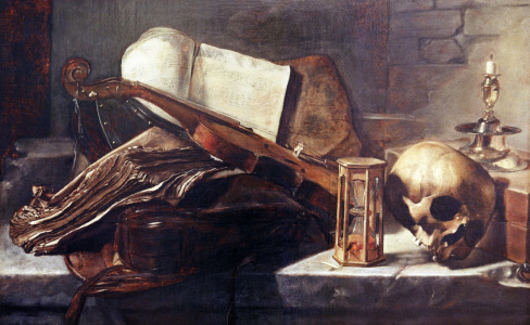Picture no: 30007543 Rembrandt (circle of), still life, books Created by: Rembrandt Harmenszoon van Rijn
