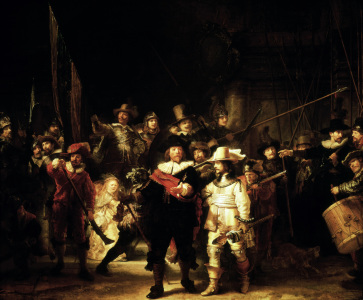 Picture no: 30007567 Rembrandt, Night Watch Created by: Rembrandt Harmenszoon van Rijn