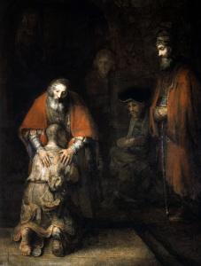 Picture no: 30007605 Return of the Prodigal Son / Rembrandt Created by: Rembrandt Harmenszoon van Rijn