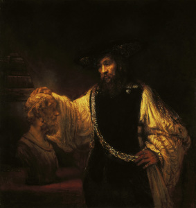 Picture no: 30007665 Aristotle / Rembrandt / Painting / 1653 Created by: Rembrandt Harmenszoon van Rijn