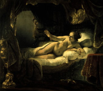 Picture no: 30007689 Rembrandt / Danae / c.1636 Created by: Rembrandt Harmenszoon van Rijn