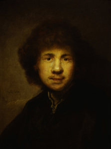 Picture no: 30007705 Rembrandt / Self-portrait / 1630 Created by: Rembrandt Harmenszoon van Rijn