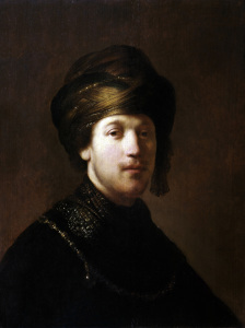 Picture no: 30007721 Rembrandt, Junger Orientale Created by: Rembrandt Harmenszoon van Rijn