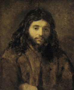 Picture no: 30007725 Rembrandt / Head of Christ Created by: Rembrandt Harmenszoon van Rijn