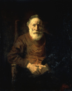 Picture no: 30007727 Rembrandt /Portr.of Old Man in Red/ 1652 Created by: Rembrandt Harmenszoon van Rijn