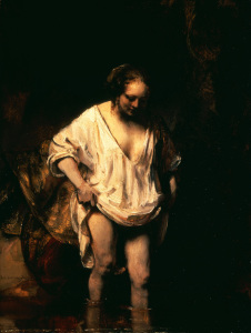 Picture no: 30007755 Rembrandt, Badendes M{dchen Created by: Rembrandt Harmenszoon van Rijn