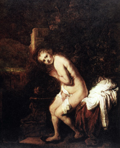 Picture no: 30007757 Rembrandt / Susannah and the Elders Created by: Rembrandt Harmenszoon van Rijn