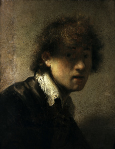 Picture no: 30007759 Rembrandt / Self-portrait as a Youth Created by: Rembrandt Harmenszoon van Rijn