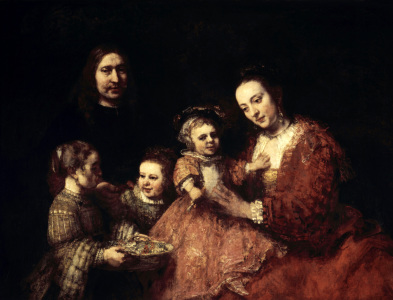 Picture no: 30007765 Rembrandt/ Family portrait/ 1668 Created by: Rembrandt Harmenszoon van Rijn